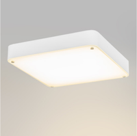 2015 Latest new design modern 60cm Square Glass LED dimmable 33W 2100LM ceiling light /plafon for indoor lighting