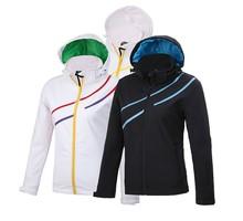 venta al por mayor de esquí de chino con capucha chaqueta de mujer 2014