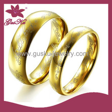 2015 STR-001 fashion gold lovers ring wholesale
