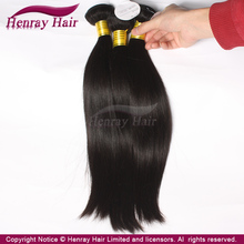 [HENRAY HAIR]Most Popular can be dyed and ironed virgin indian human hair