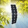 semi-flexible solar panels 150w thin roll solar panel
