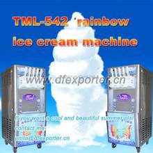 TML-542 big capacity 5 colors rainbow soft ice cream machine