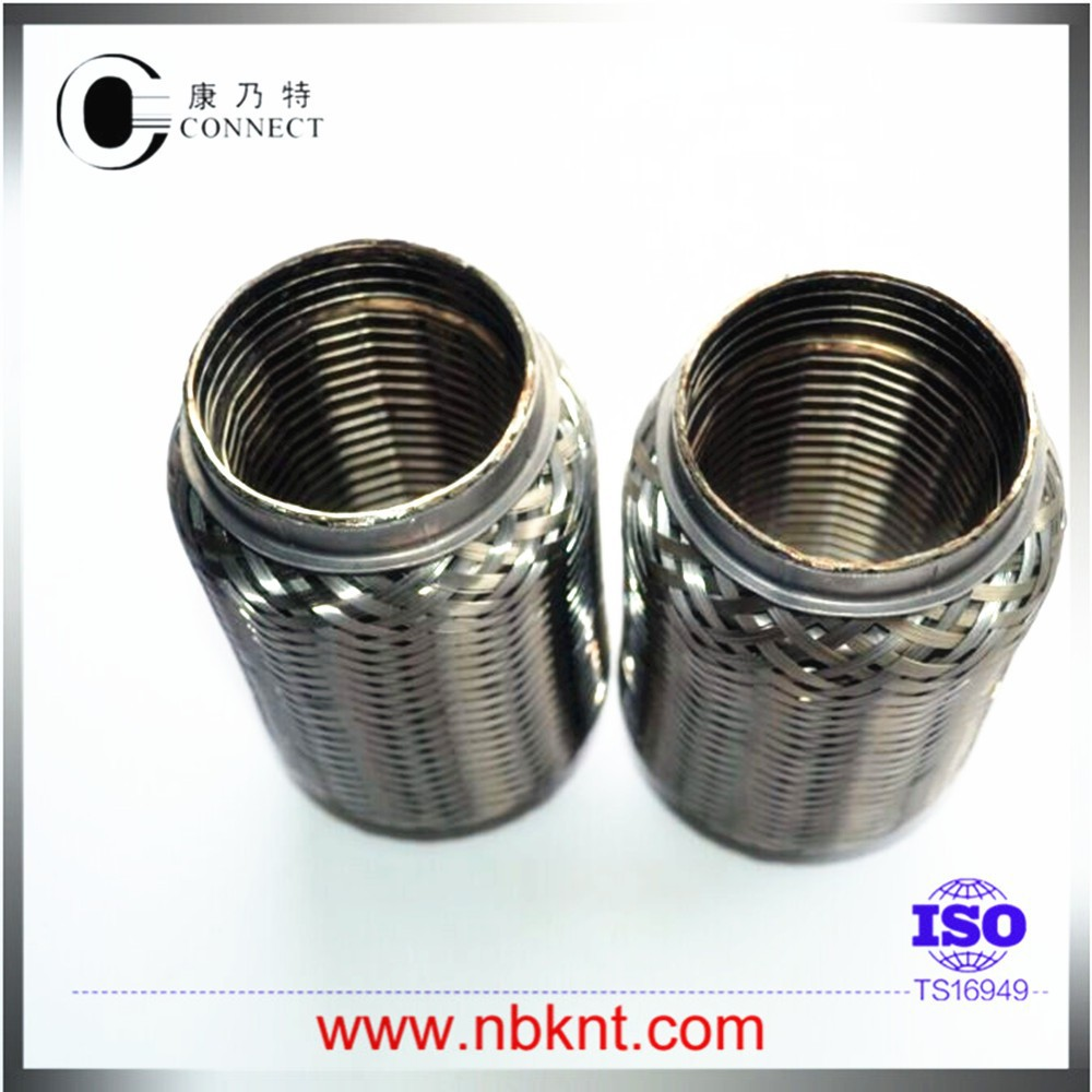 Steel Coupler For Exaust : Stainless steel exhaust flex pipe universal fit tube