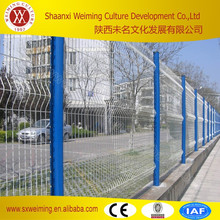 2015 New Products Vinyl Coated Welded Mesh Fence