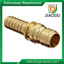 made in china 15 mm plug 3/4'' hydraulic fitting brass straight garden hose barbed fitting quick connector