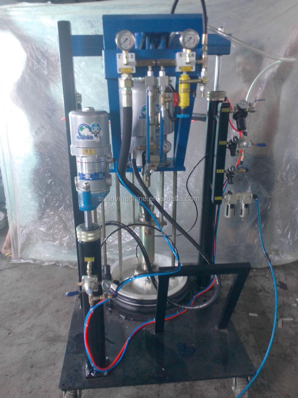 Thiokol sealant spreading machine-hollow glass machine