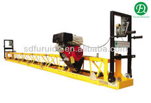 gasoline engine hand guided concrete vibratory screed machine