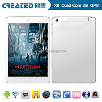 1.2GHz Android 4.2 and 7.85 inch IPS 11024*768 replacement screens for tablet pc