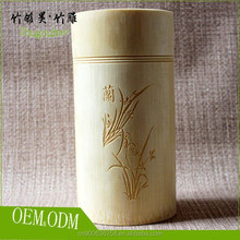 Engraved decorative tea storage tins
