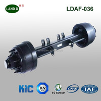 Trailer Parts Manufacture Fuwa Standard Trailer Axle,rubber torsion axle