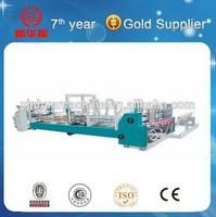 automatic corrugated box folder gluer machine /carton folding glue machine