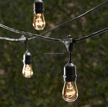 48 Foot E26 Outdoor Heavy Duty Medium Base Edison String Lights