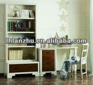 Designed furniture/wooden furniture living /study room book case cabinet chair set