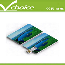 shipping methods colorful credit card usb flash drive