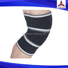 Good quality velcro long sleeve knee length lace dresses body building sports safety