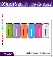 Top Selling Portable Power Bank With USB Cable LED Lighting, Portable 5200mah Power Bank