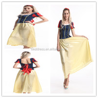 stock -item Snow White Ladies Fancy Dress Short Fairy Tale Adult Costume Sexy Fantasy Outfit S-3XL