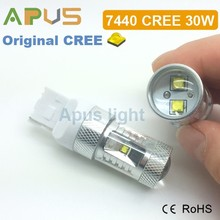 Wholesale 2 years warranty 30W CR.EE chip 12V T20 7440 car led light