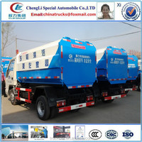 FOTON 4x2 LHD or RHD 4000L 4CBM roll off hook lift garbage truck for sale