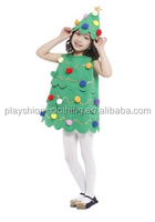 Green elf girls show hooded costumes for fancy dress party halloween costumes masquerade performance