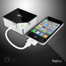 Portable usb power bank 2015 hot 7800mAh gift power bank