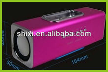 New Arrival 2012 manual multifunction mini portable amplifier speaker