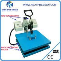 factory directly 365days warranty Double heating plates heat press mchine