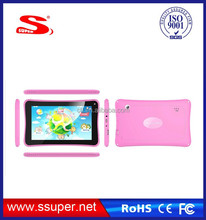 English learning toys, dual camera dual core android 7 inch tablet pc with education