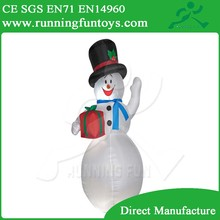 2015 best selling Inflatable Christmas Decorative Snowman Model ICL-0148