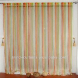 CUT TO SIZE DECORATIVE STRING CURTAINS 15 COLORS AVAILABLE