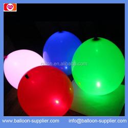 hot sale colourfull LED ballon light up led ballon led glowing balloons