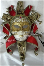 Antique mask Venice mask Carnival mask wall decoration material