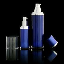 protección solar botella privada de aire de plástico elegante