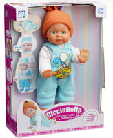 functional new climbing boy ABS happy moving baby doll with EN71
