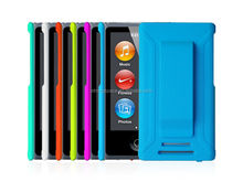 2015 Rubber belt Clip PC Case protective cover for new iPod Nano 8th Generation