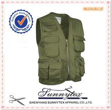 Sunnytex high quality wholesale multi pophot work mesh travel vest