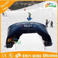 giant big snowboard bags/snowboard big air bag for game