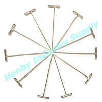 Nickle Plated Steel T Pins Clip For Wig/Hair Weft/Hair Extension Mannequin Canvas