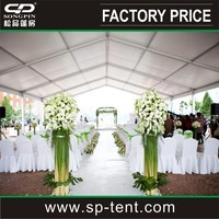 Luxury aluminum frame PVC wall marquee garden PVC event party wedding tent for marquee
