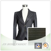 2015-2016 Hot Sale stripe woven polyester/acrylic blend suit fabric for fashion and formal clothing