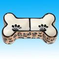 el perro de cerámica de la placa
