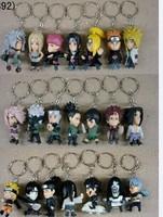 Naruto 3D PVC keychains