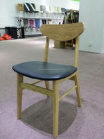 rattan Classic hotel wooden dining chair