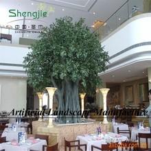 China factory, amazing landscape, artificial banyan tree