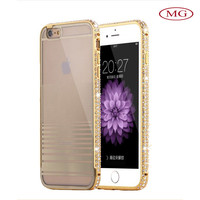 free shipping within 2 days metal PC phone case for iphone 6 plus 2015 fashion