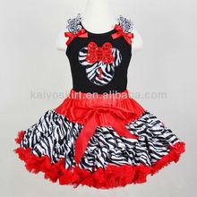 2013 nuevos diseños nuevos vestidos de las muchachas del galón de Navidad