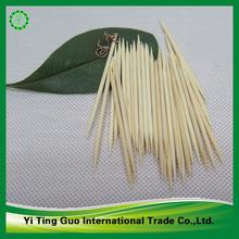 De bambú decorativos& madera 2 palillo de dientes laterales afilar