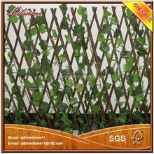 artificial plants outdoor decoration plastic leaf hedge garden fence