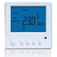 Programmable Room Thermostat with Remote Control Celsius Fahrenheit