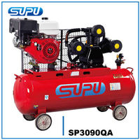 Gasoline belt AIR Compressor SP3090QA 8BAR 7.5HP 300L air tank